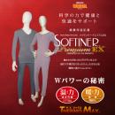 ソフティナープレミアムEX・健康保温肌着上下セット(紳士M)
